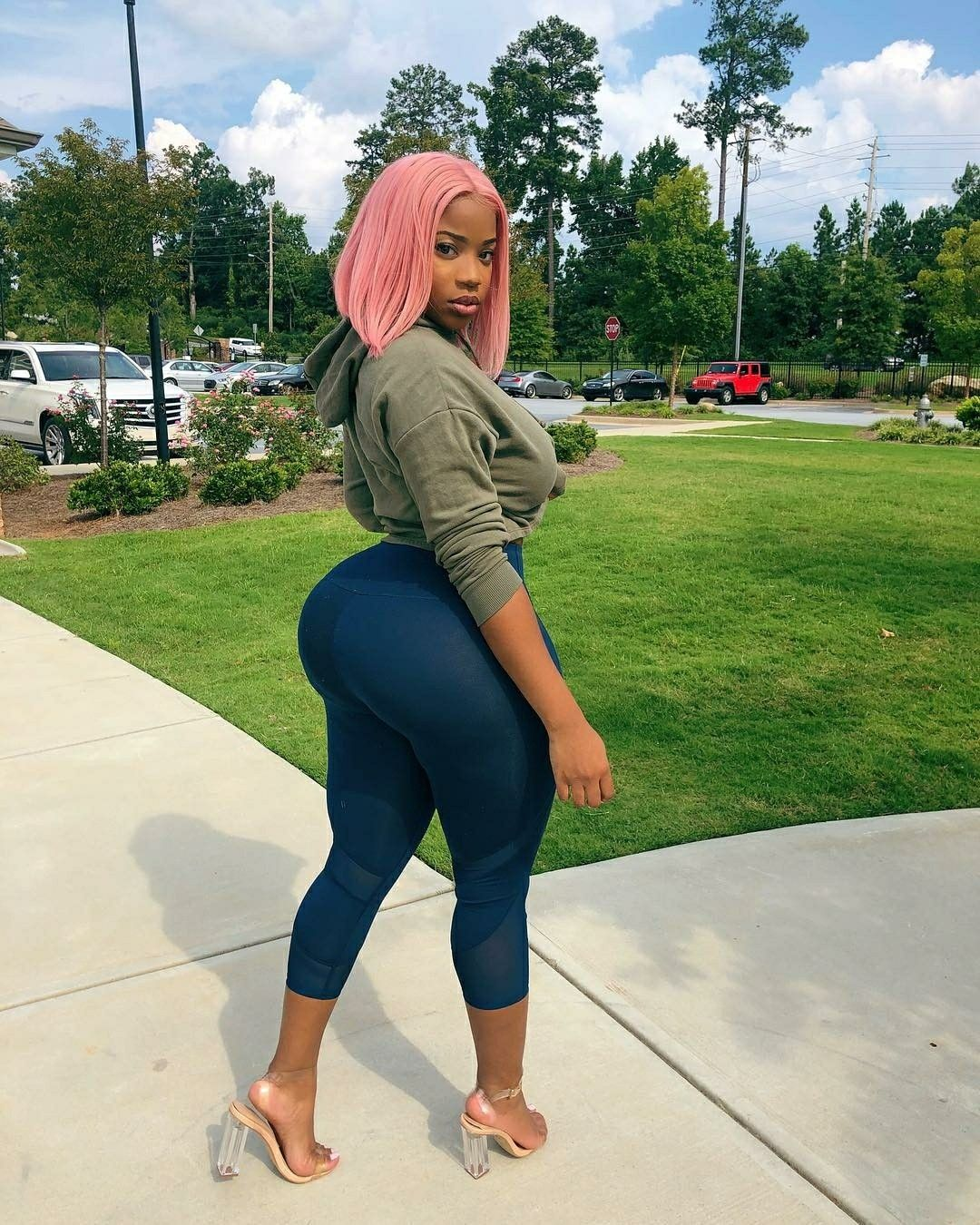 Ghetto Booty Phat Azz Thick Thighs Instagram Most Beautiful Women Colors