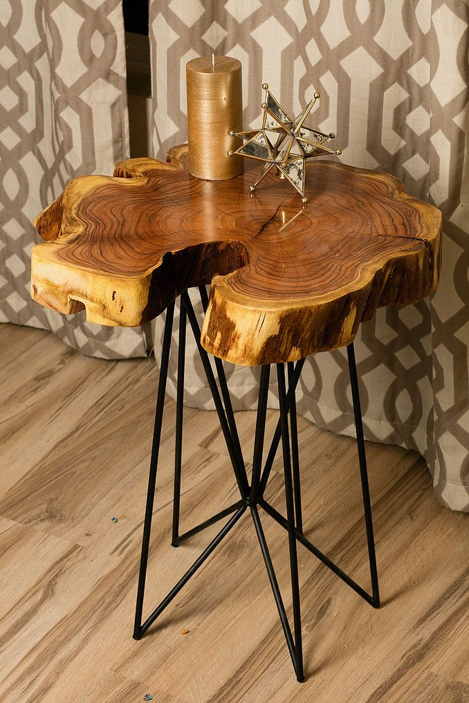 LumberLust Designs, Custom Live Edge Modern Tables