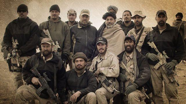 ODA 574 with Hamid Karzai