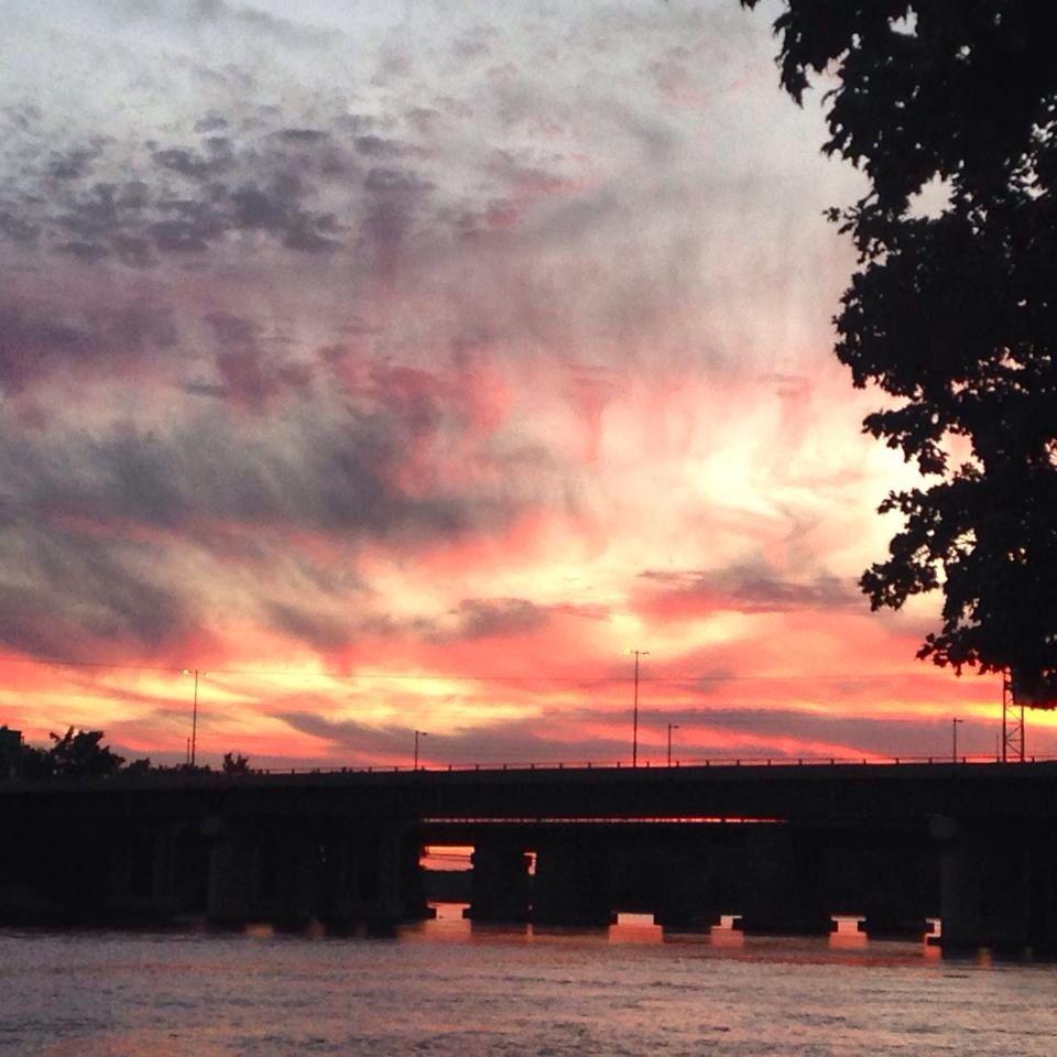 Beautiful sunset @ ste anne de bellevue :)