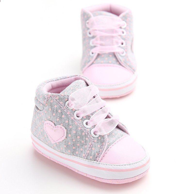 Lucu Balita Bayi Sneakers Baru Lahir Bayi Crib Sepatu Gadis Tali