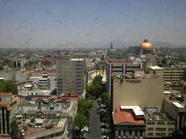 Paseando por la cd. de México. V.  Panorámica de la ciudad.