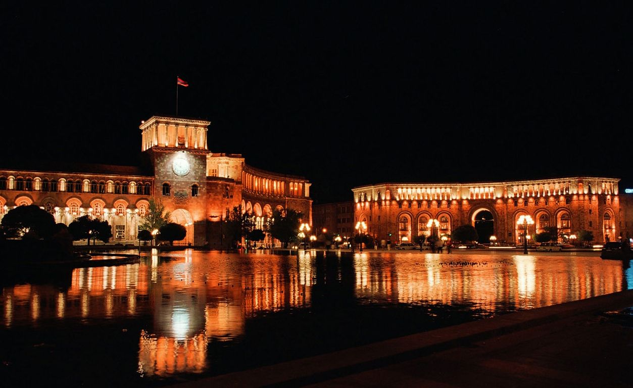 Yerevan Nights Armenia | Photo | Places in the World ...