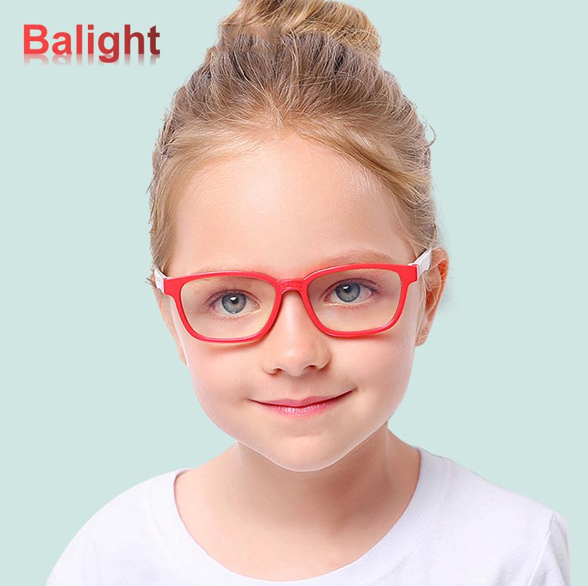 Baby Bendable Silicone Anti Blue Light Optical Glasses Flexible One Piece Safe Eyeglasses Plain Mirror Goggles Eyewea In 2020 Eyewear Frames Optical Glasses Eyeglasses