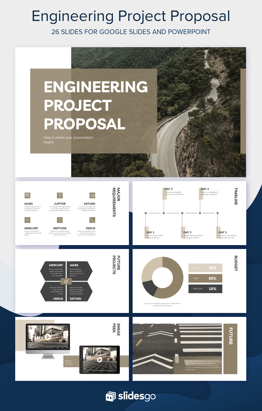 Explain A New Project Proposal Of An Engineering Work With This New Free Presentation Temp Engineering Projects Project Proposal Powerpoint Presentation Design