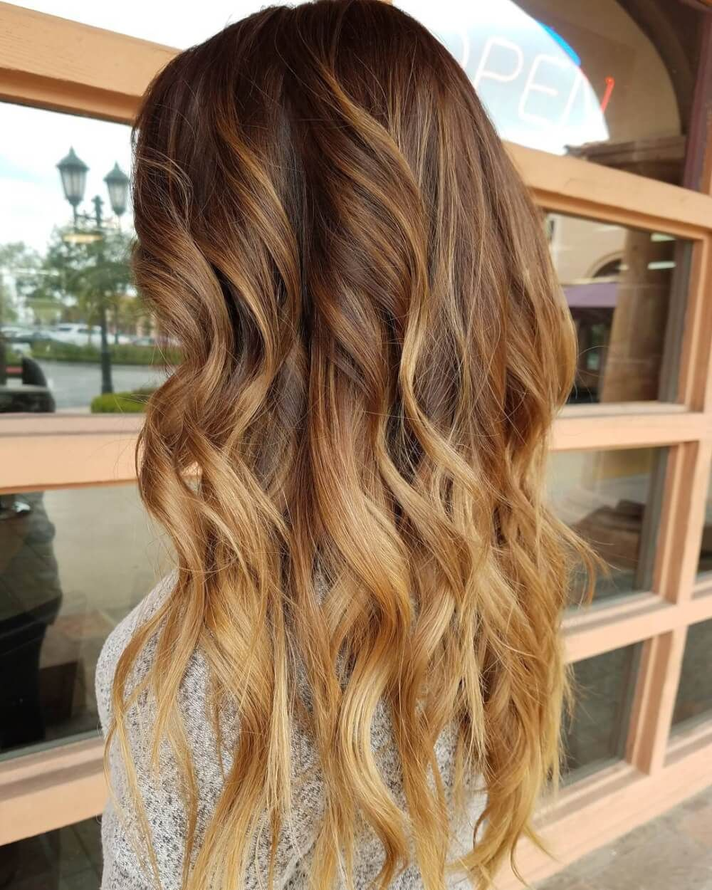 Warm Light Brown Toffee To Honey Ombre Hair Color Ombre Hair Blonde Light Brown Hair Hair Color Light Brown