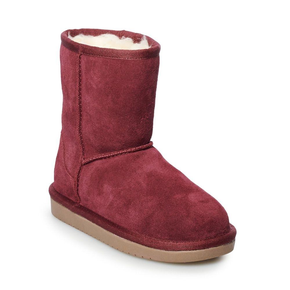 Koolaburra by UGG Koola Girls' Short Winter Boots, Drk