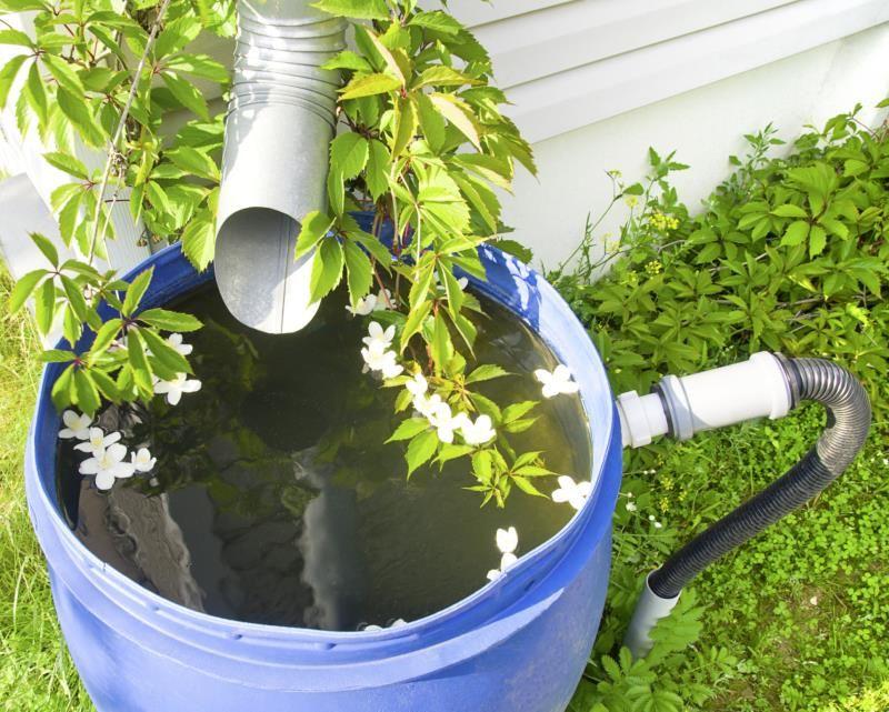 How to Attach a Faucet to a Rain Barrel Rain barrel