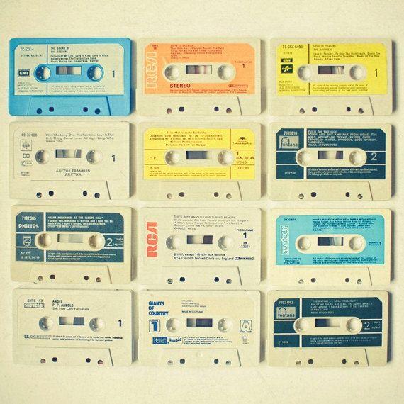 dekorativa kassettband