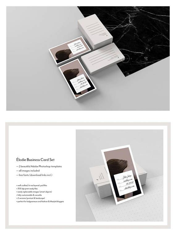 Stylish business card template fashion business card design stylish business card template fashion business card design printable bc psd card feminine bc card 4 blogger ladypreneur lodie pinterest reheart Images
