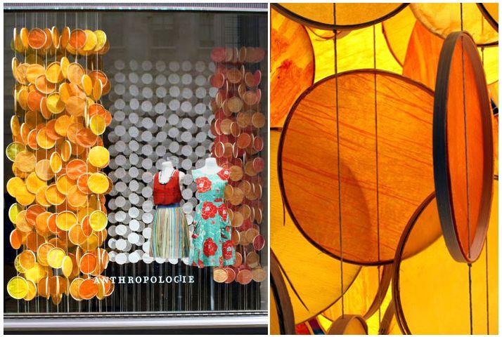 Fall Window Display Inspiration - Warm Fall Hues - Blog - Boutique Window http://www.boutiquewindow.com/blog/articles/fall-window-displays/