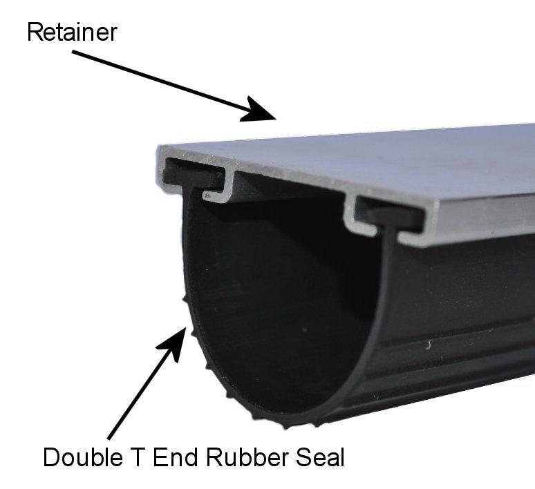 Garage Door Bottom Seal And Replacement Weather Seal In 2020 Garage Door Bottom Seal Garage Door Weather Seal Garage Floor Plans