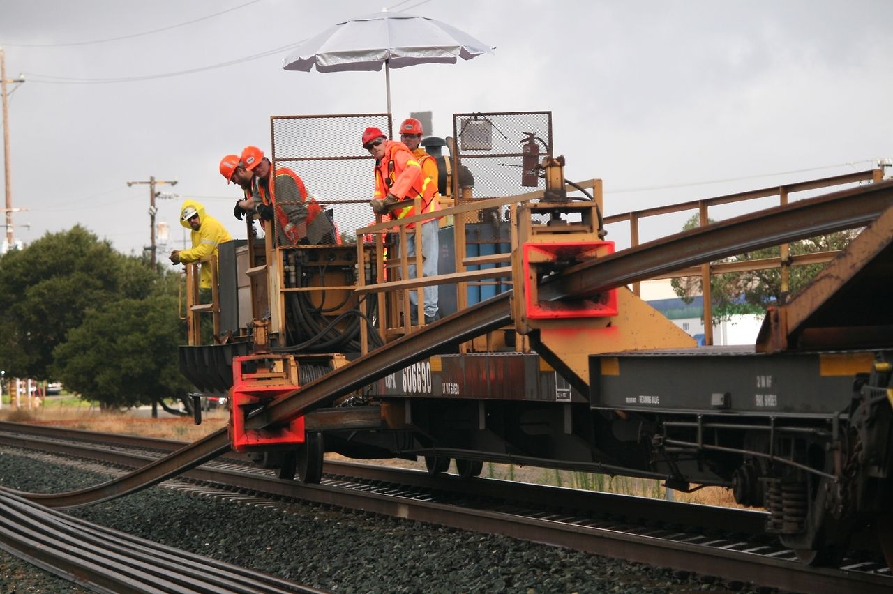 Most modern railways use continuous welded rail, sometimes referred