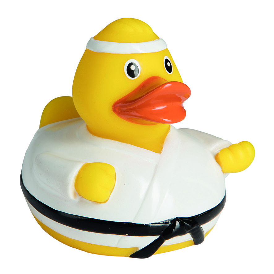 Quietsche Ente Kampfsport Rubber Ducky Rubber Duck Duck