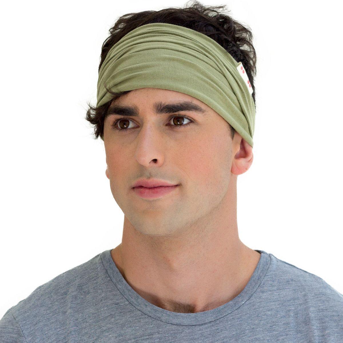 Men's haircut los angeles twist headband safari green  products