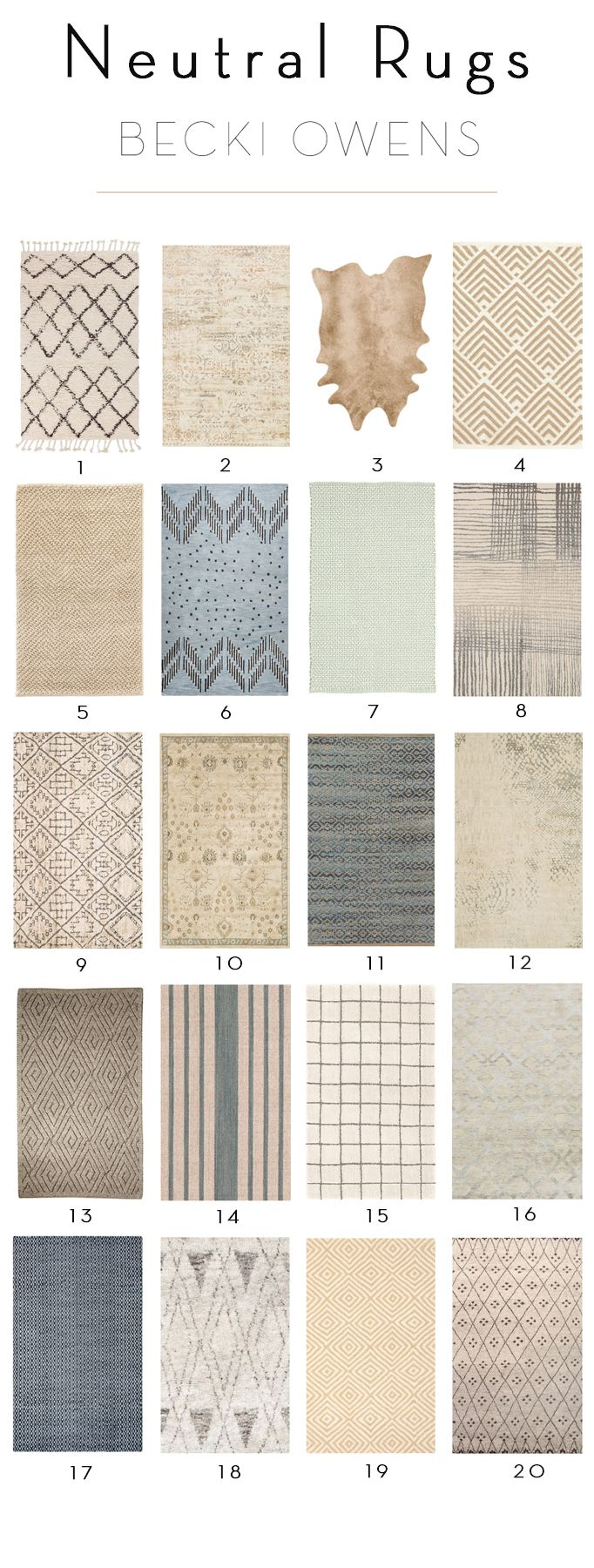 Remember My Post On How To Layer Rugs? Take A Look At These 20 Neutral Rugs  Off! Part 57