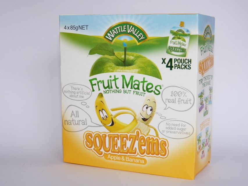 Wattle Valley Fruit mates Apple & Banana $4.00 - Cut the Chemicals ...