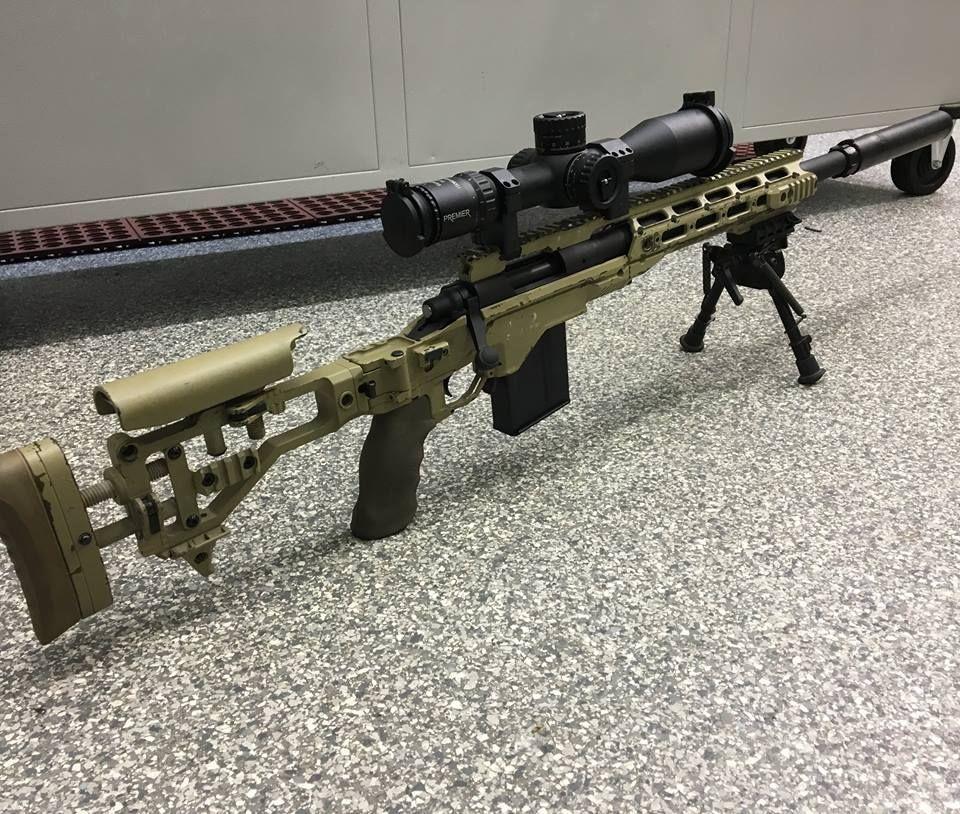 The new USMC Scout Sniper Rifle - the M40A6 Guns Guns Guns
