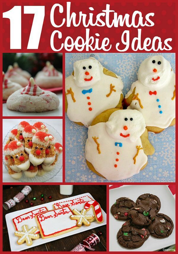 17 Ideas for Christmas Cookies Christmas cookies, Cookie recipes