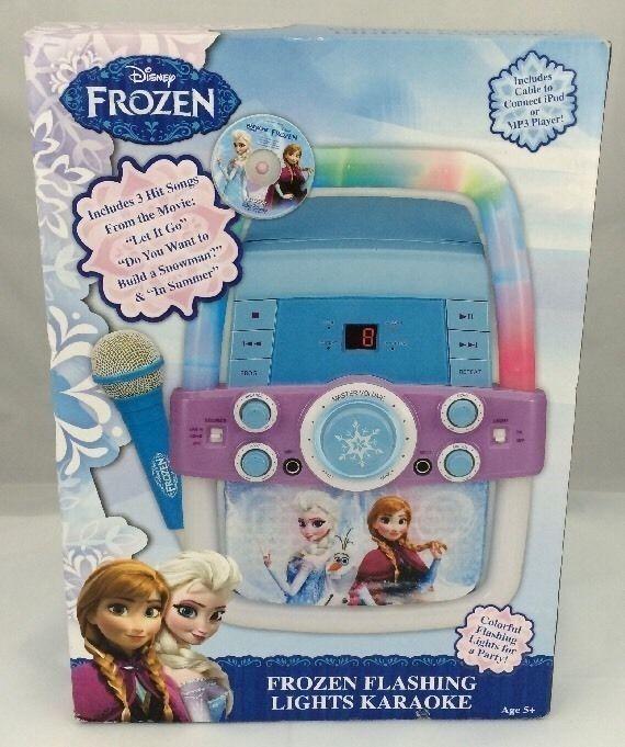 Frozen flashing lights karaoke