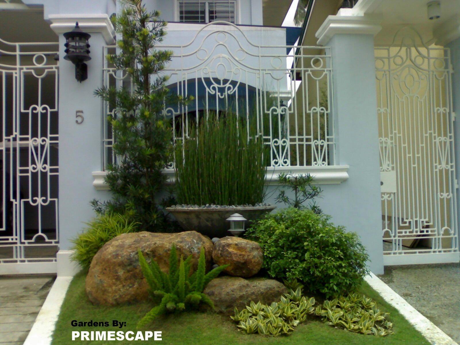 small garden design ideas philippines landscaping ideas for front yards   gardening   Pinterest