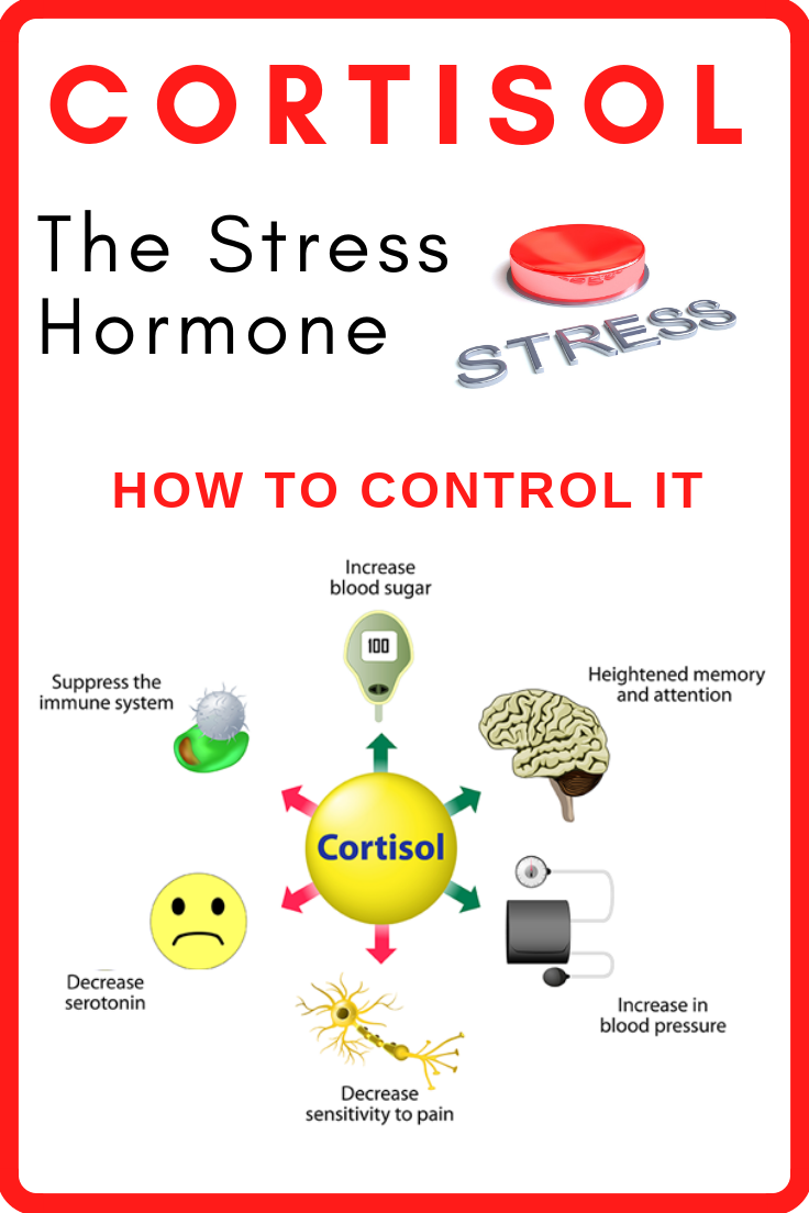 Cortisol Stress Hormone Reducing Stress Holistic health