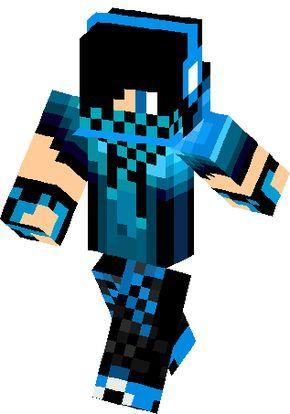Blue Dj Boy Skin Minecraft Skins Pop Pinterest Minecraft - Skin de youtuber para minecraft