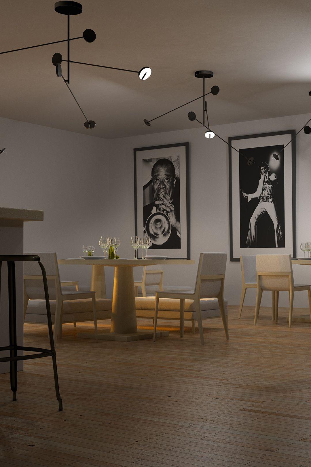 luminaire design led lampe invisible noir en 2019. Black Bedroom Furniture Sets. Home Design Ideas