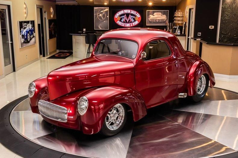 1941 Willys Coupe For Sale In Plymouth Mi 89 900 In 2020 Willys Shaved Door Handles American Racing Wheels