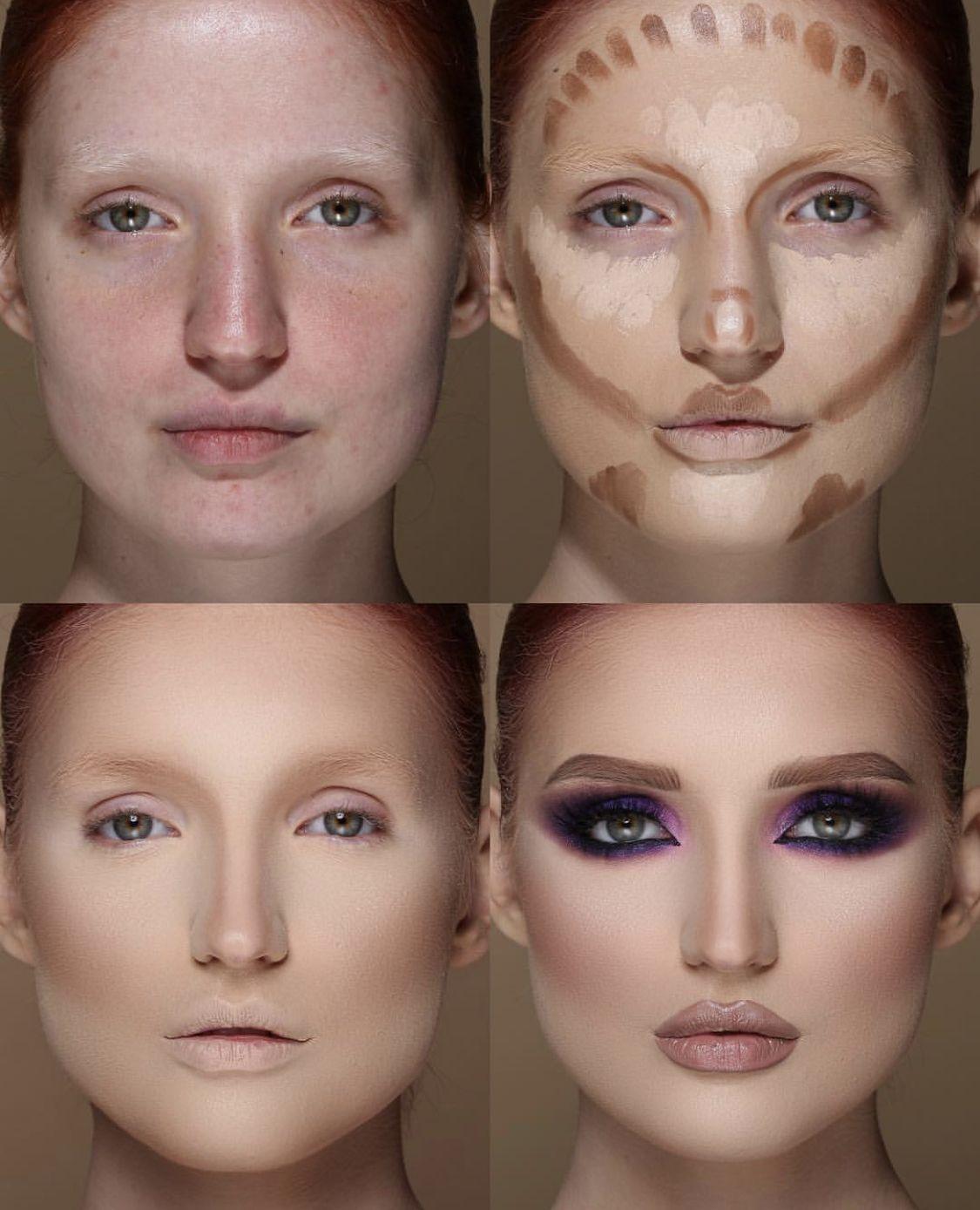 Pin By Cesareus On Make Up Redhead Highlighter Makeup Contour Makeup Best Contouring Products