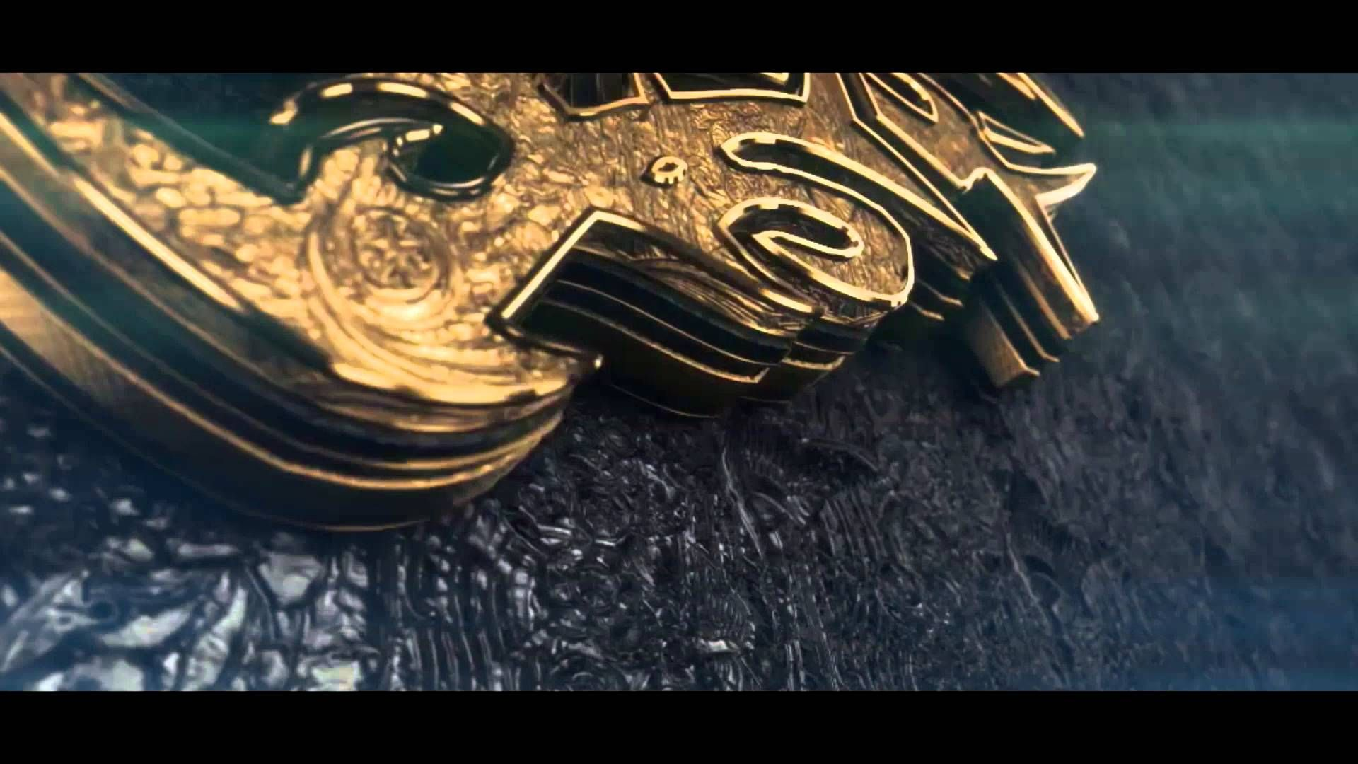 FREE 3D Intro Template After Effects 3D Gold Logo Reveal