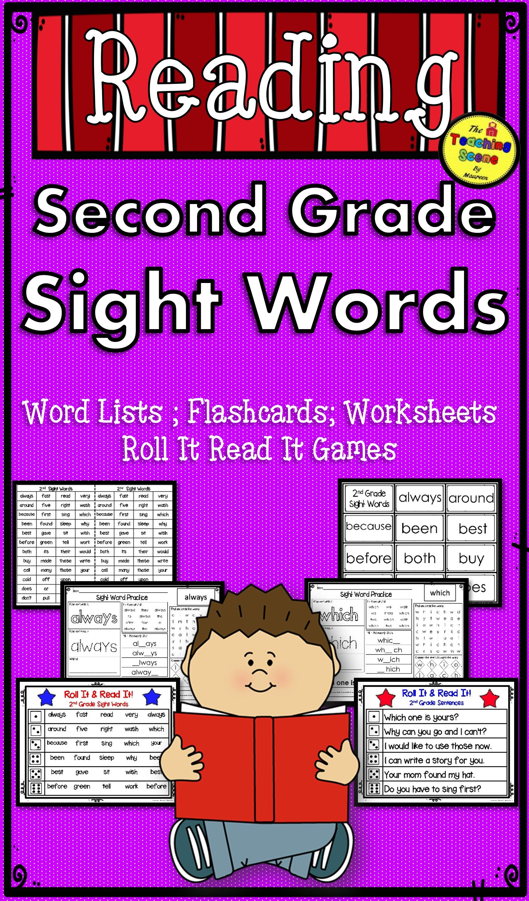 Second Grade Sight Word Activities Amp Worksheets