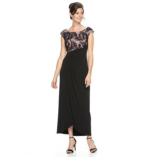 Women\'s Connected Apparel Soutache Evening Gown | Clothing ...