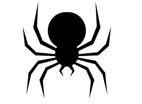 Hilaire image pertaining to printable spider