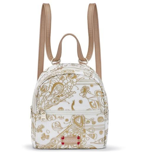6e182bdb99 We are loving the new Mini Crossbody Backpack in glitzy Gold Songbird! This  metallic print adds glam to your look and the mini backpack is right on  trend ...