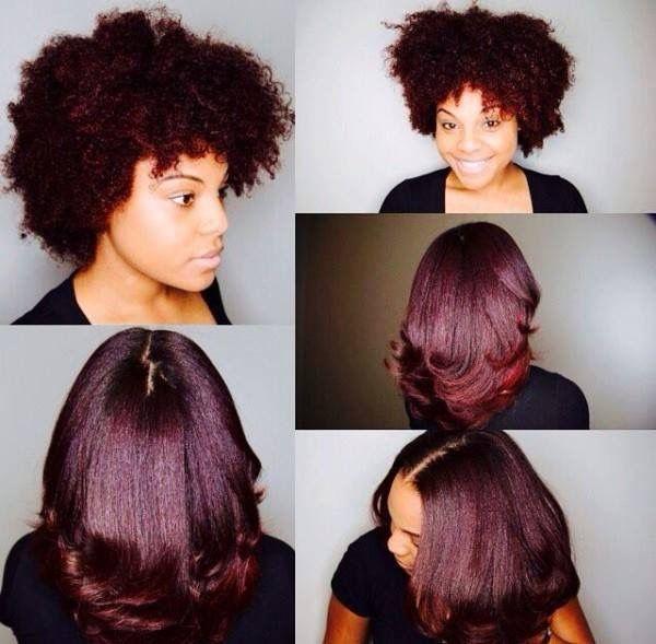 Black Hair African American Mixed Hair Color Natural Hair