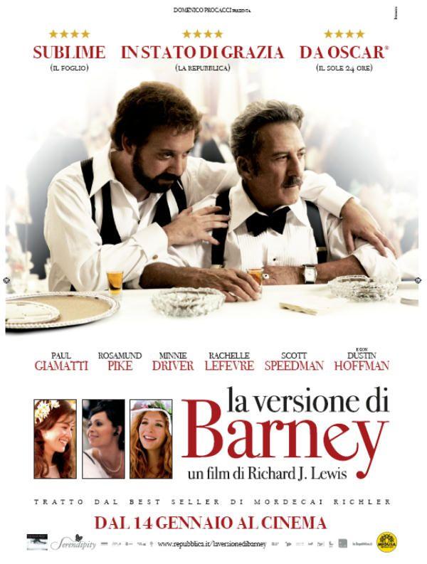 La versione di Barney, in onda martedì 21 agosto alle 21:00 su Sky-Cult.