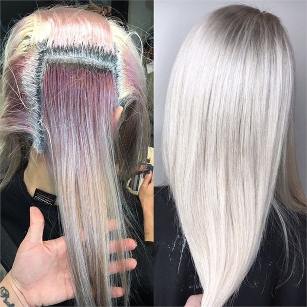 Color Correction Old Fashioned To Icy Level 10 Blonde Ice
