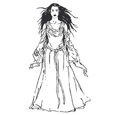 Lord Of The Rings Arwen Coloring Pages | Lord of the Rings ...