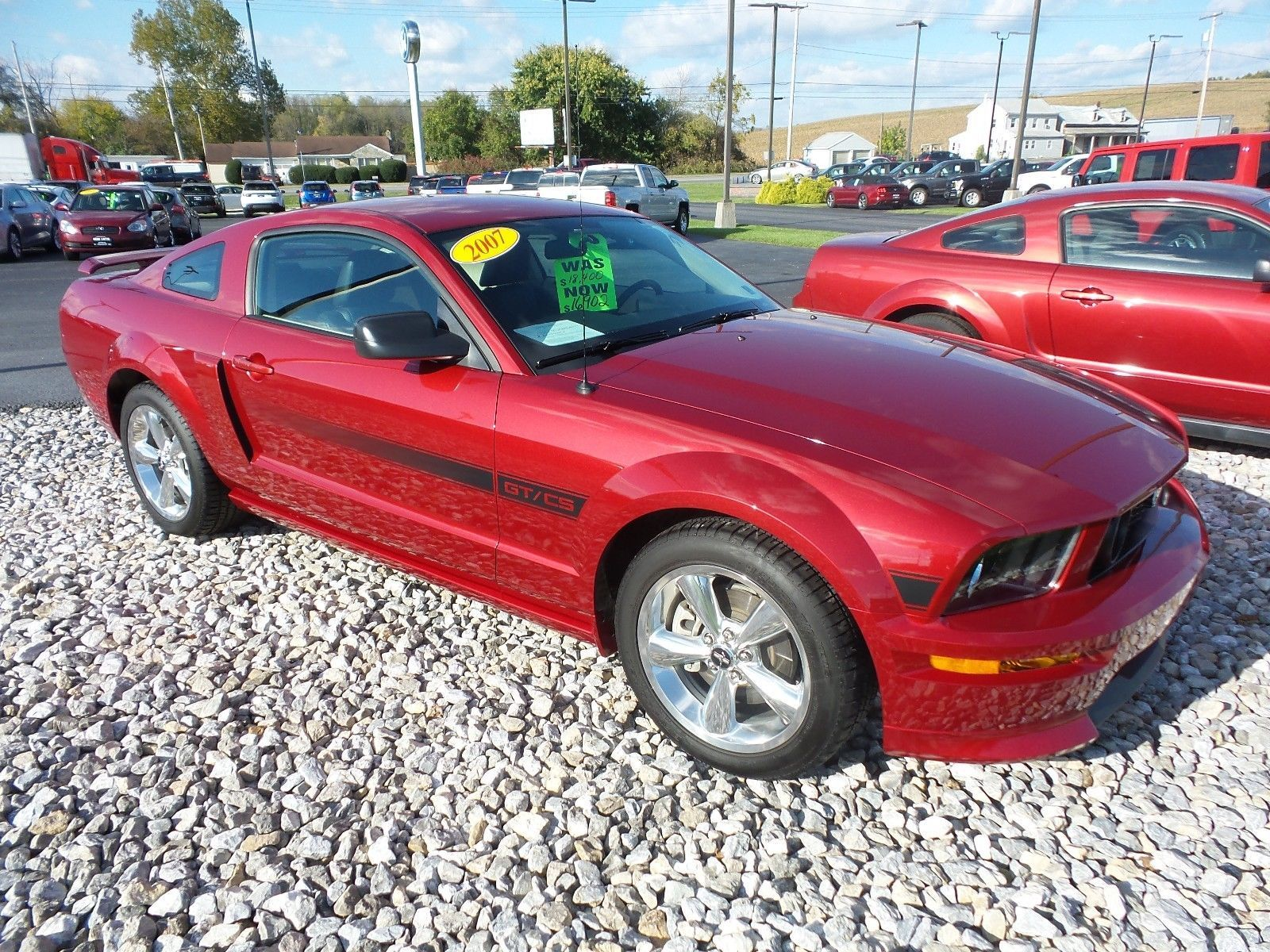 Cool Awesome 2007 Ford Mustang Gt California Special Premium One