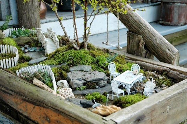 Como fazer um mini jardim decorativo | Receitas Lá na Roça