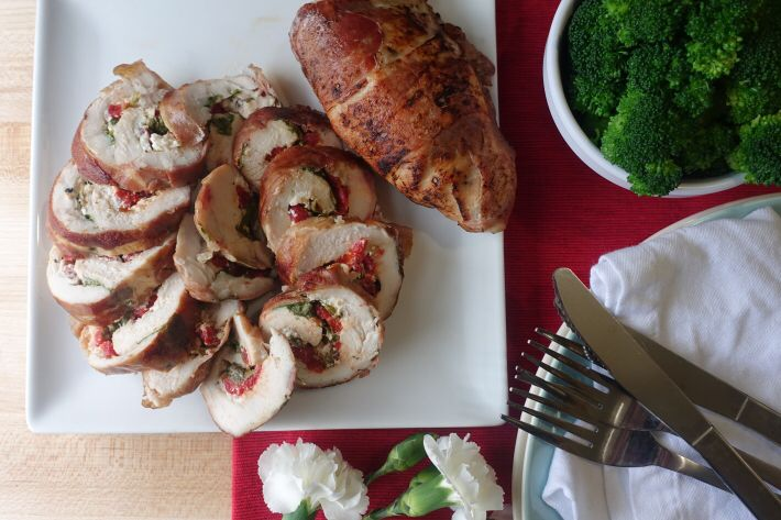 sous vide prosciutto wrapped chicken roulade recipe sous vide