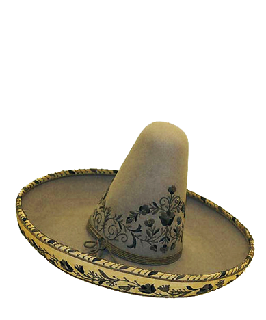 Sombrero Wool And Silk Mexican 19th Century Cinco De Mayo Or The Fifth Of May Commemorates The Mexican Army S Sombrero De Charro Sombrero Mexicano Sombreros