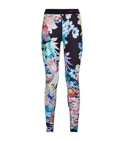 JUICY COUTURE Rainforest Compression Leggings. #juicycouture #cloth #