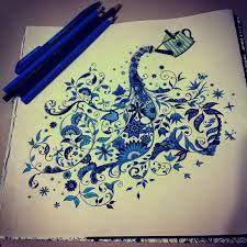 Resultado De Imagem Para Jardim Secreto Livro Colorido Johanna Basford Secret GardenZen TanglesWatering CansColoring BookCreative