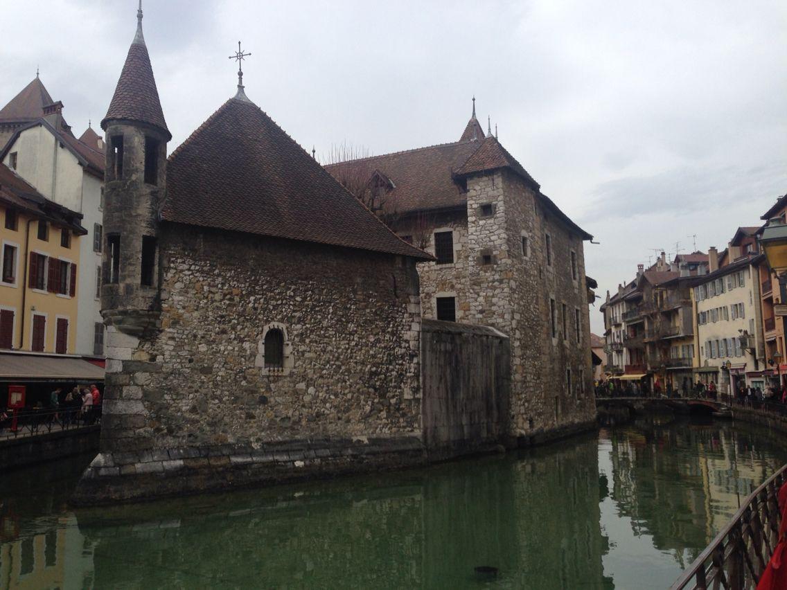Una delle immagini più famose di Annecy