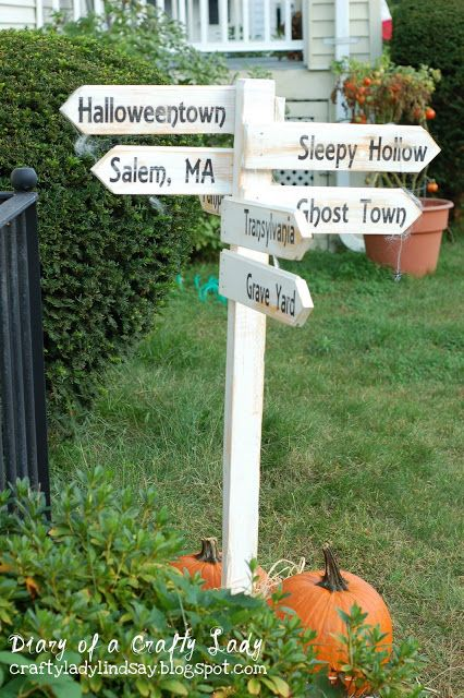 Not halloween, but kids and family names. | In the garden ...