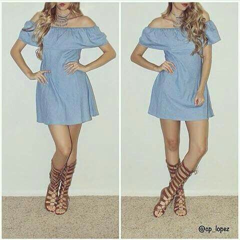 Vestido campesino | outfit | Pinterest