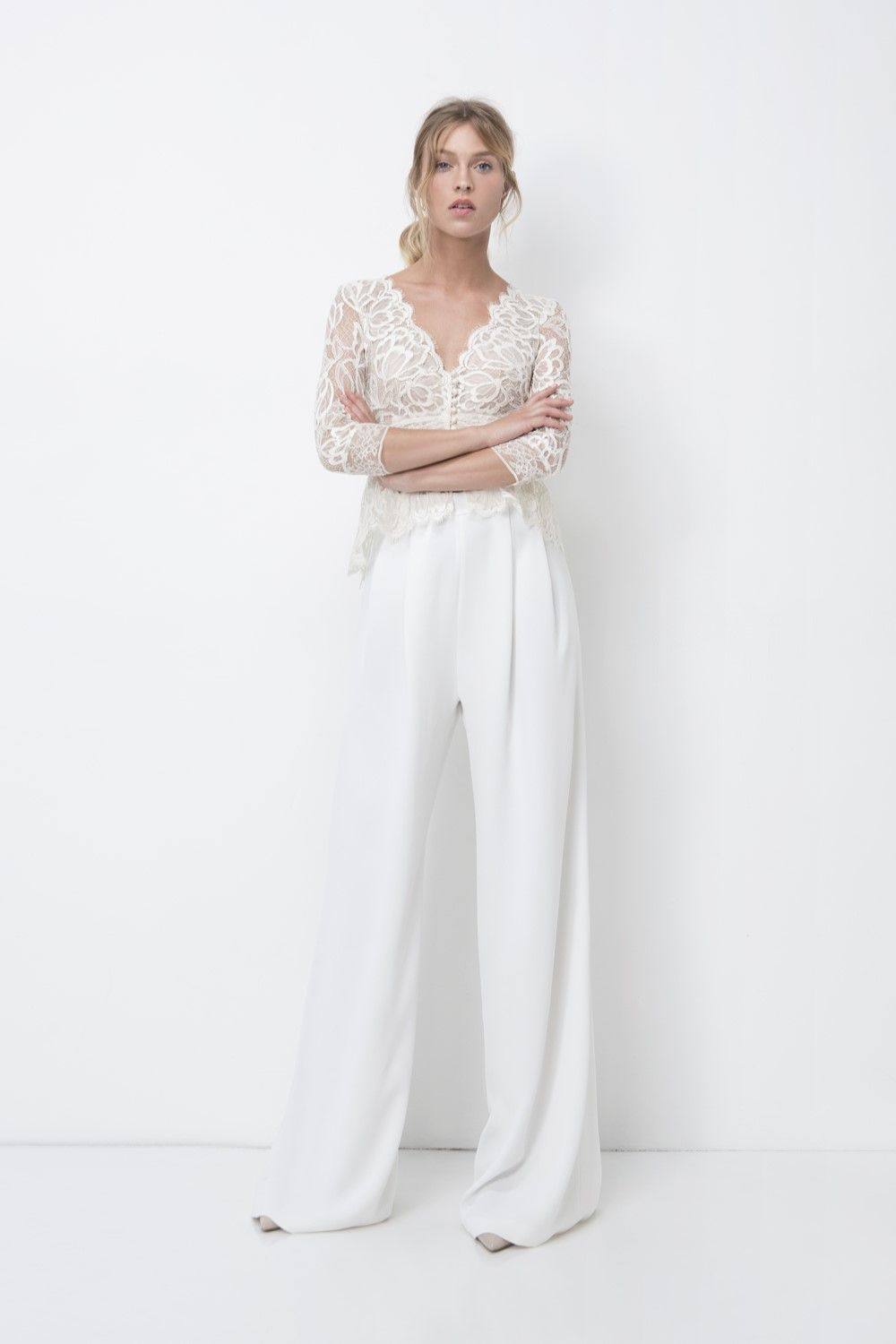9ae6a7c8eb Eve Bridal Trousers from Lihi Hod's 2018 Bridal Collection | Wedding ...