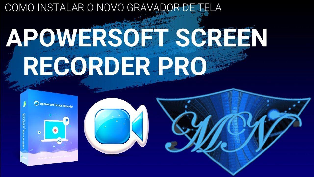 Como Baixar E Instalar Apowersoft Screen Recorder Pro 2019